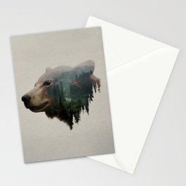 The Pacific Northwest Black Bear Stationery Cards