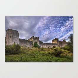 Chepstow Castle Walls Canvas Print