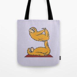 Acroyoga Sloth Tote Bag