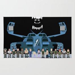 USS Sulaco Crew  Rug