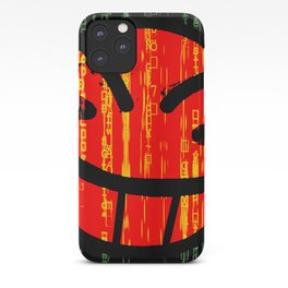 Cowboy Bebop Hacked Smile iPhone Case