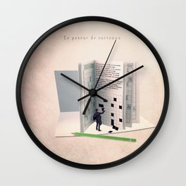 The grid filler Wall Clock