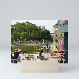Luxembourg Gardens 15 Mini Art Print