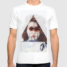 Gypsy Girl White Mens Fitted Tee MEDIUM