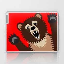 The Bear Says Boo Laptop & iPad Skin