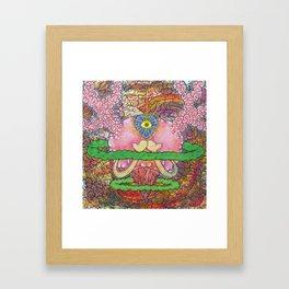 Third Eye Love Framed Art Print