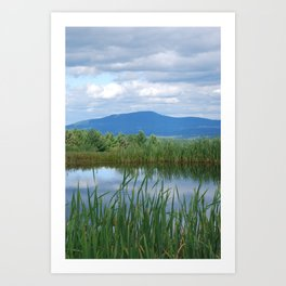 The Pond @ Trapp Family Lodge - Stowe, VT Art Print
