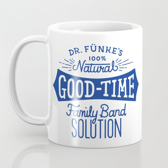 Dr. Funke's 100% Natural Good-Time Family Band Solution Coffee Mug