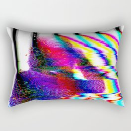 fm edit on the blob Rectangular Pillow