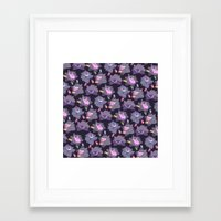gengar Framed Art Prints featuring GENGAR by Ginseng&Honey