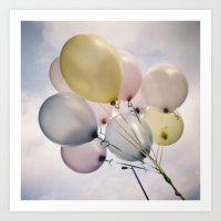 balloons! Art Print