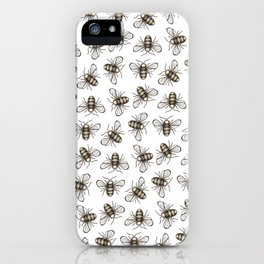 Bee Pattern - Katrina Niswander iPhone Case