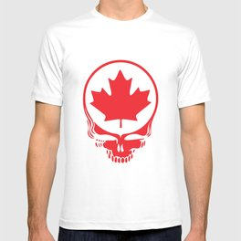 Canadian Steal Your Face (variation #2) T-shirt