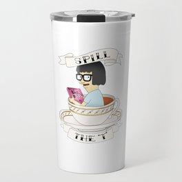 Tina Bob's Burgers (Spill The Tea) Travel Mug