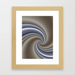 fluid -59- Framed Art Print