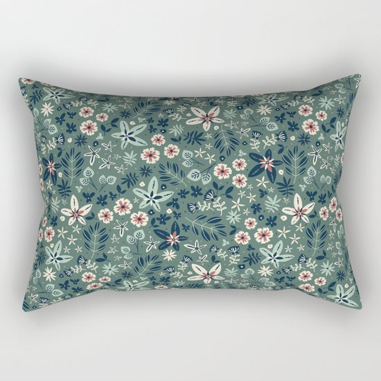Earth Garden Rectangular Pillow