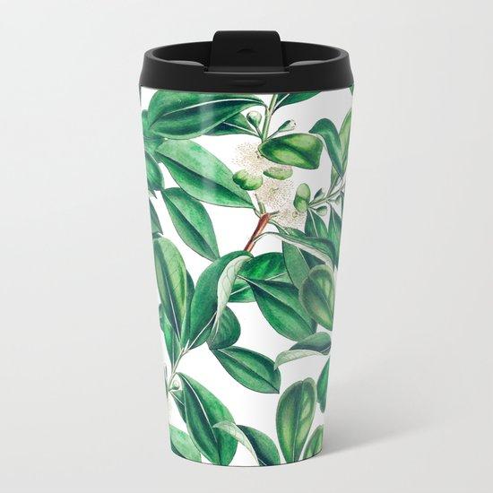 Botanica #society6 #decor #buyart Metal Travel Mug
