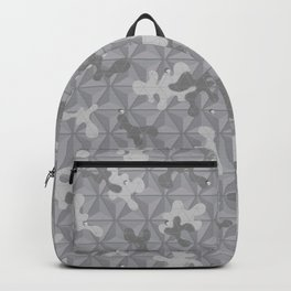 'Space Grey Camo Pattern' by: Allan C Backpack