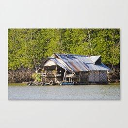 Thai Fisherman's Hut Canvas Print