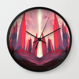 RECHARGED RECIPROCAL Wall Clock