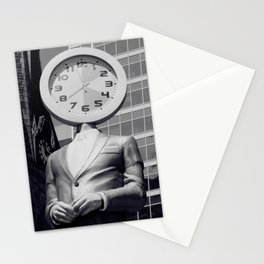 Time, Warped Stationery Cards