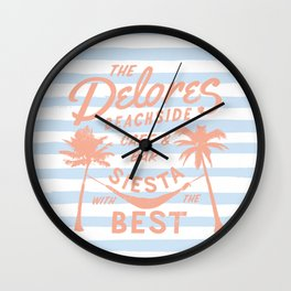 The Delores Wall Clock