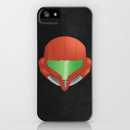 Samus Helmet - Super Metroid iPhone Case