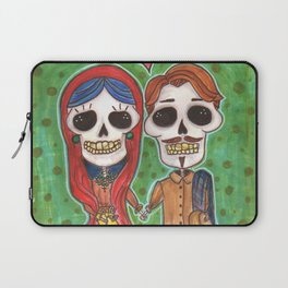 Te Amo Day of the Dead Laptop Sleeve