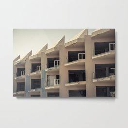 Abandoned Apartments Metal Print