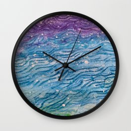 Zen Doodle Patterns in Ink Wall Clock