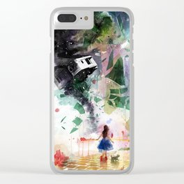Not in Kansas Anymore Clear iPhone Case
