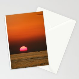Sunset in Croatia Stationery Cards