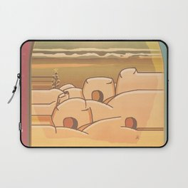 Beached Labyrinth Laptop Sleeve