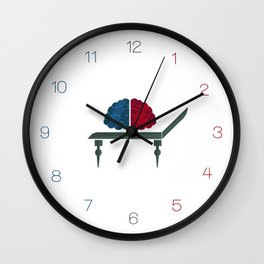 Psychologist / Professions Set Wall Clock