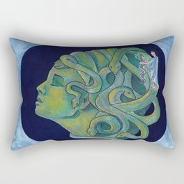 Asclepius' Path Rectangular Pillow