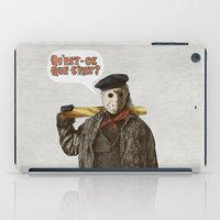 yetiland iPad Cases featuring Psycho Killer by Eric Fan
