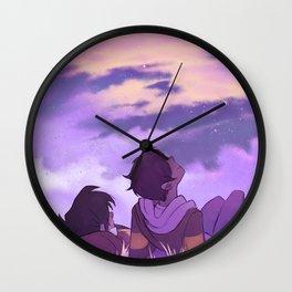 Stargazing Klance Wall Clock