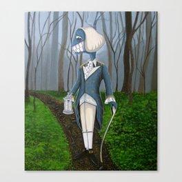 Mourning Walk Canvas Print