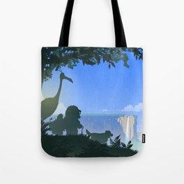 Paradise Falls Tote Bag