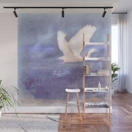 White bird Wall Mural