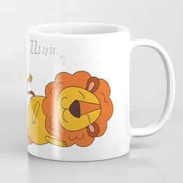Lion Sleeps Tonight Coffee Mug
