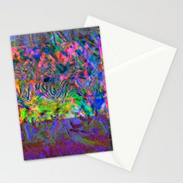 Sauce Packet Glitch Stationery Cards