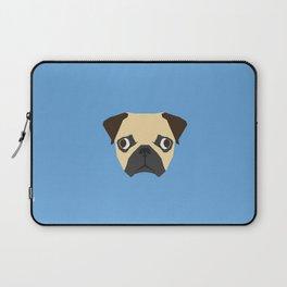 Vector pug Laptop Sleeve