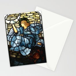 "Edward Burne-Jones ""The morning star"" Stationery Cards"