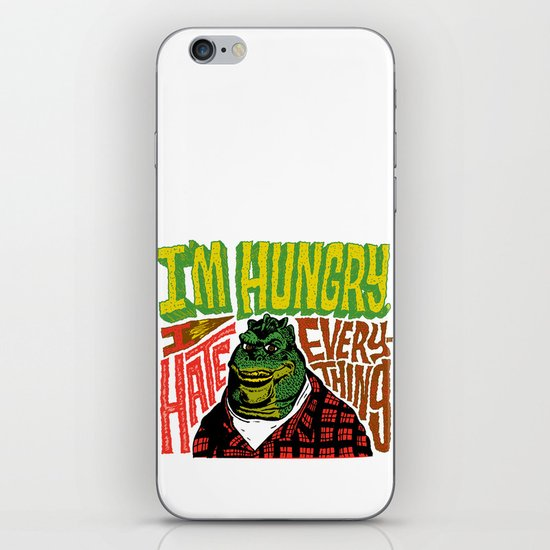 Hungry Earl iPhone & iPod Skin