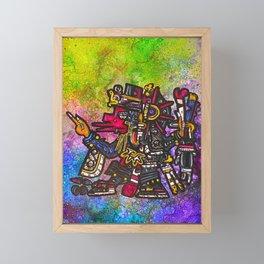 Queztalcosmos Framed Mini Art Print