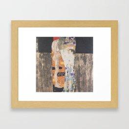 Die drei Lebensalter der Frau/The Three Ages of Woman, 1905 Framed Art Print