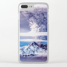 VOLCANO#1 Clear iPhone Case