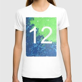 Blue & Green, 12, No. 4 T-shirt