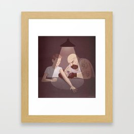 Grow Fast Framed Art Print